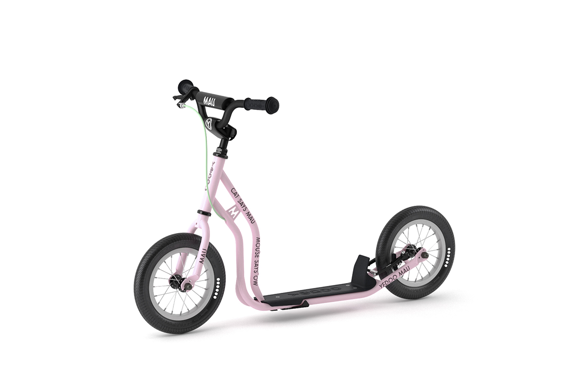 YEDOO New Mau Kinder-Roller Candy-Pink ab 4 Jahren