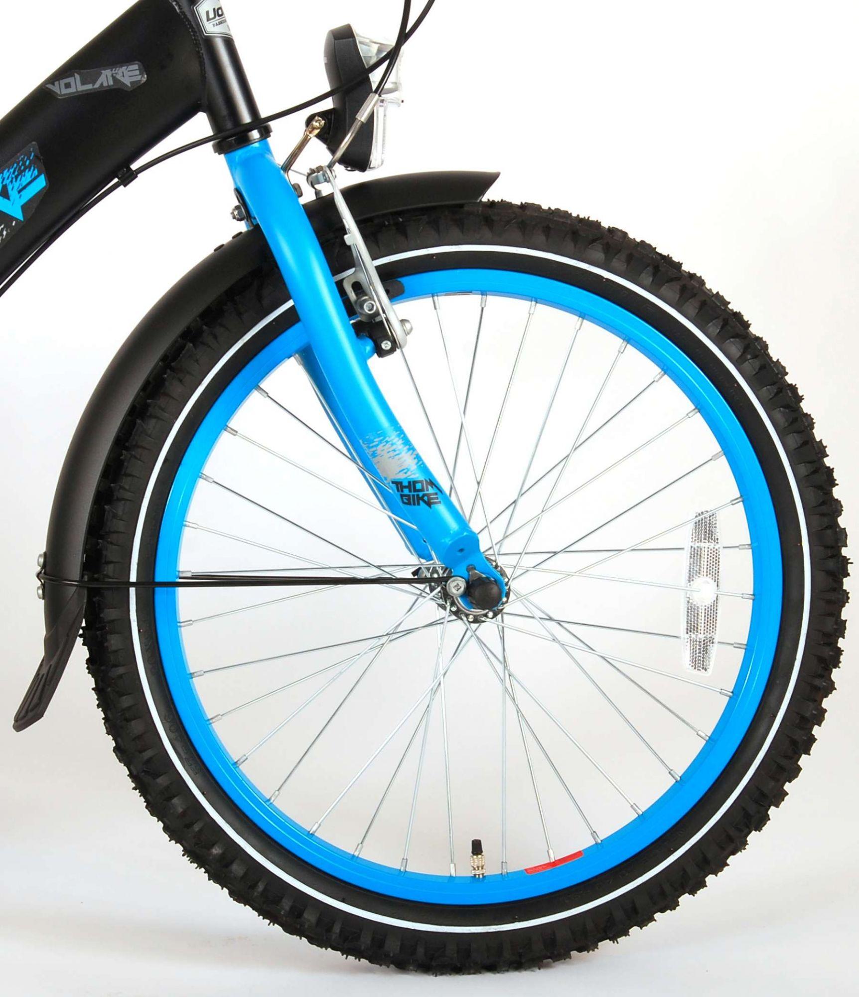Thombike    20 Zoll  Kinderfahrrad - Matt Black - Shimano Nexus 3 Gänge