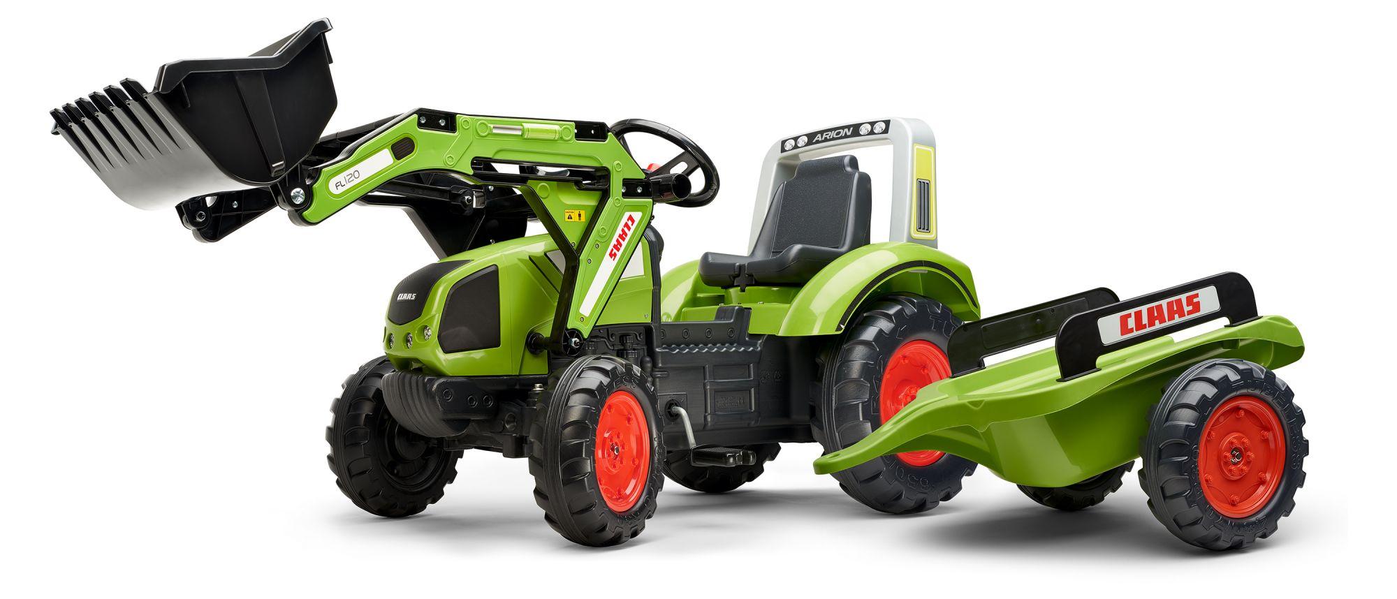 Falk Claas Arion 430 - Grün - Tret-Traktor - Jungen Sound
