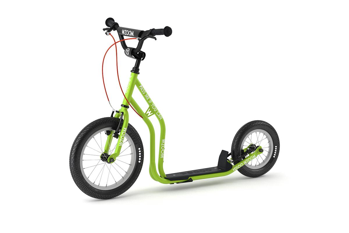 YEDOO Wzoom  Kinder  Tretroller Green