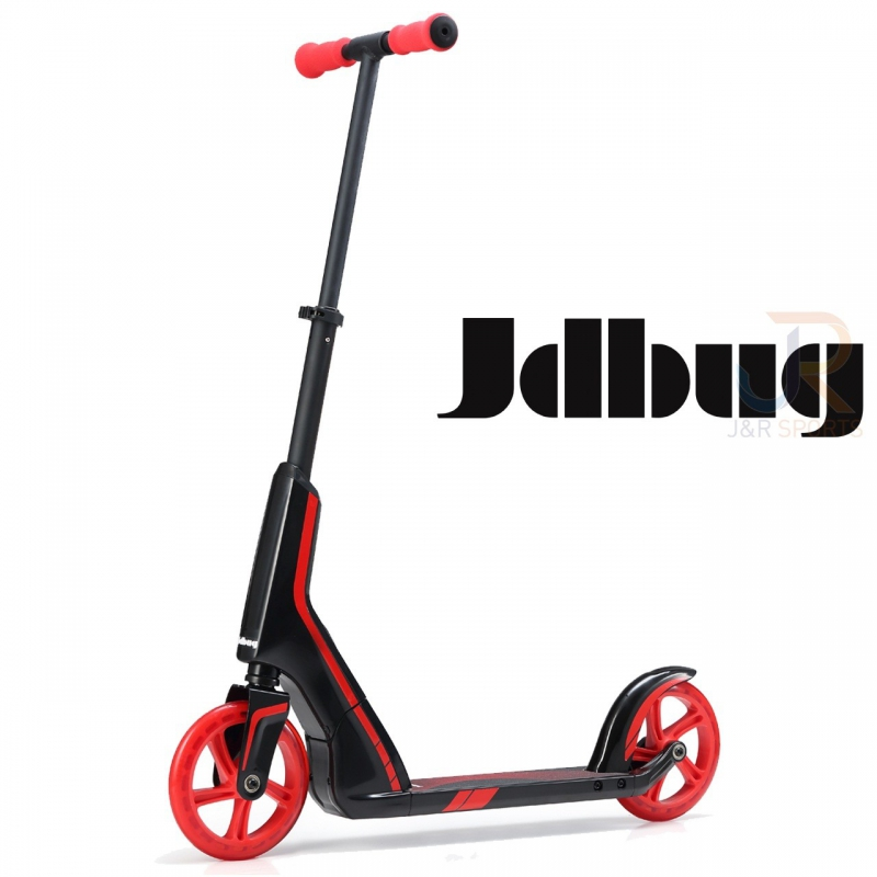 JD BUG  SCOOTER-TRETROLLER SMART 185 BLACK-RED
