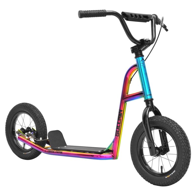 INVERT Kinder Tretroller für Kids  ab 6 Jahren  Neon Color