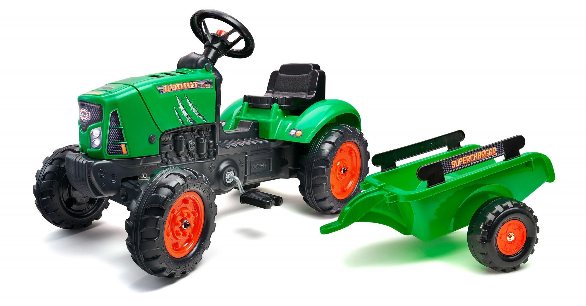 Falk Supercharger - Grün - Traktor - Jungen