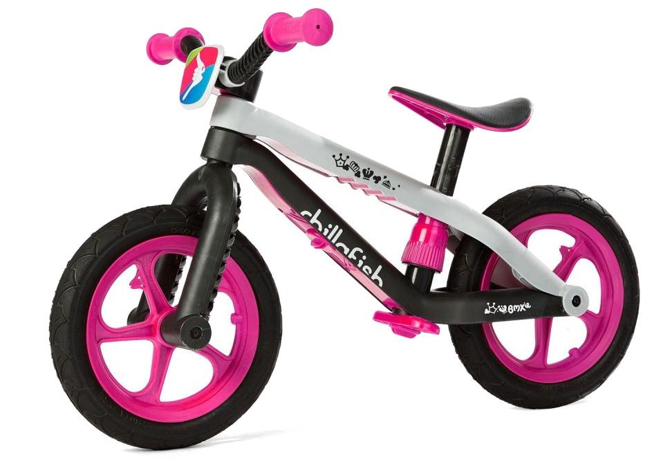 Chillafish BMXie-RS Laufrad 12 Zoll Mädchen Rosa
