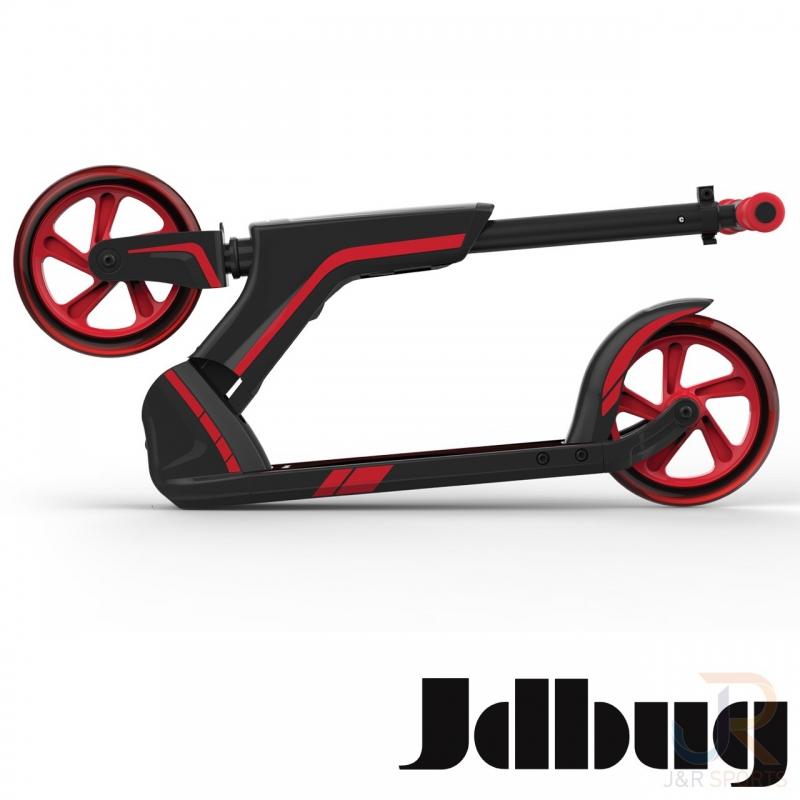 JD BUG  SCOOTER-TRETROLLER SMART 185 BLACK-RED