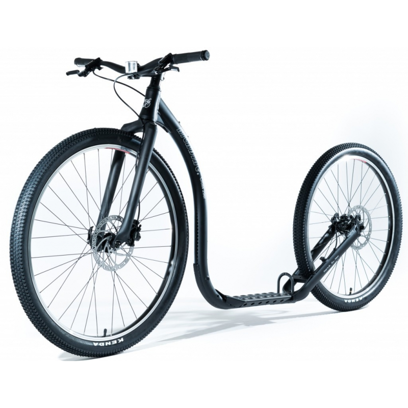 KICKBIKE TRETROLLER CROSS MAX 29/26, BLACK