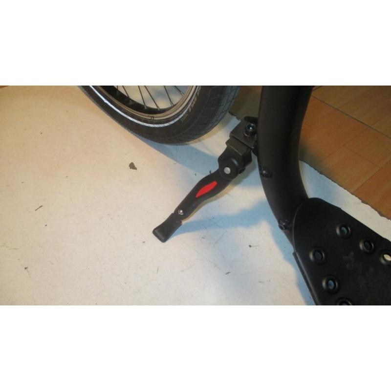 KICKBIKE TRETROLLER  E-CRUISER MAX BLACK