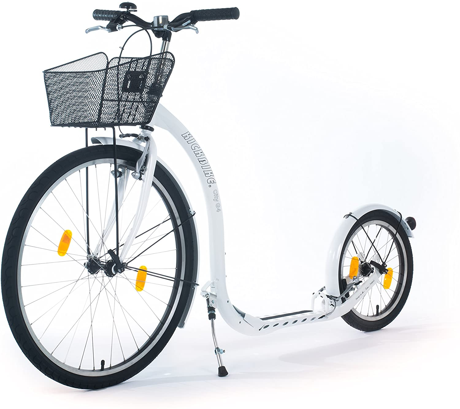 KICKBIKE  CITY  TRETROLLER G4 WHITE