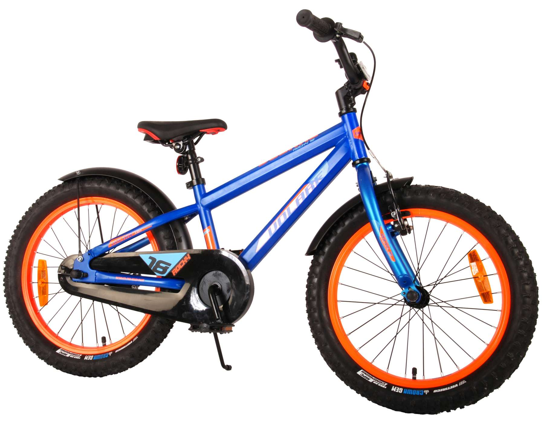 Rocky Kinderfahrrad 18 Zoll - Blau - Prime Collection