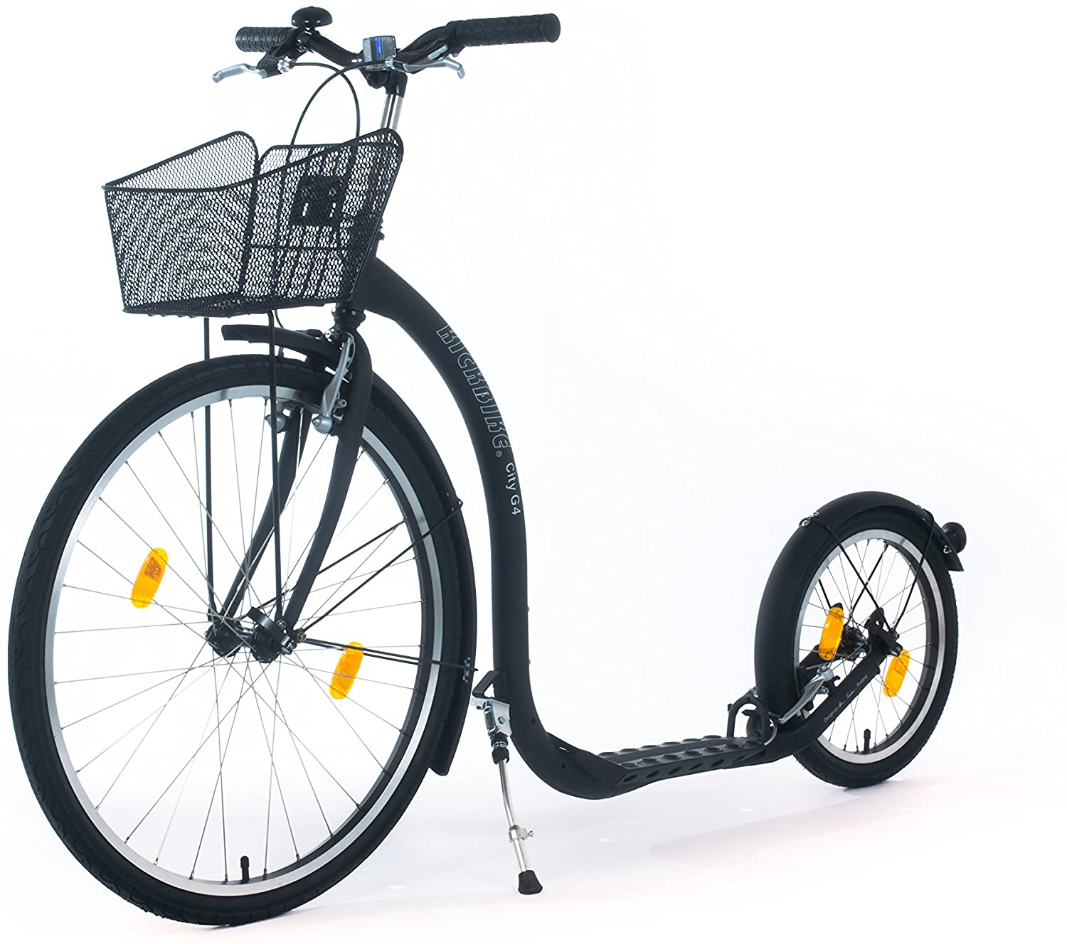 KICKBIKE CITY TRETROLLER G4 BLACK