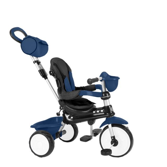 QPlay Dreirad Komfort 4 in 1 -  Alter von 12-36 Monate