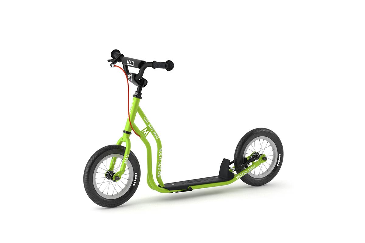 YEDOO New Mau Kinder-Roller Green ab 4 Jahren