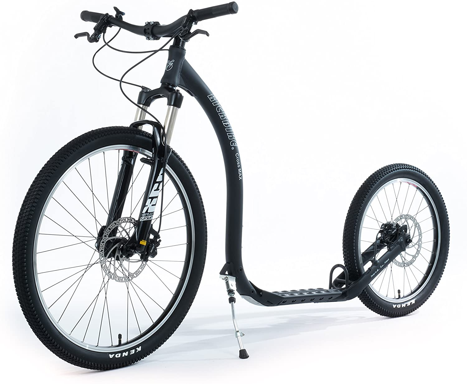 KICKBIKE TRETROLLER  CROSS MAX 20D+ BLACK ALU